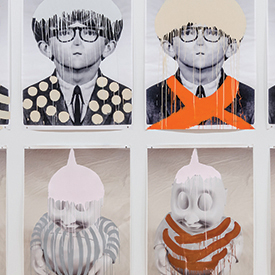 Artwork of Mark Mothersbaugh at The Akron Art Museum
