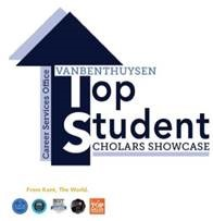 VanBenthuysen Top Student Scholars Showcase Logo