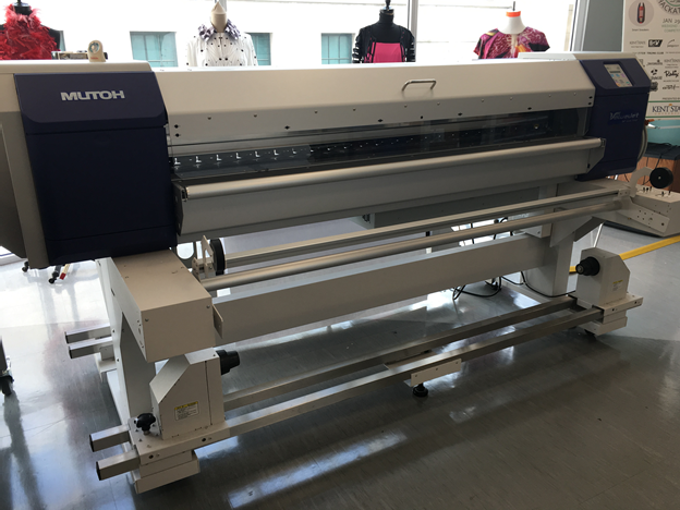 Textile printer - mutoh vj