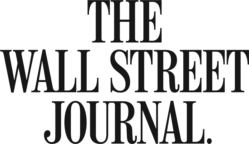 The Wall Street Journal Logo linking to Wall Street Journal website