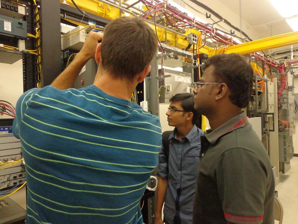 BdREN Engineers at OARnet