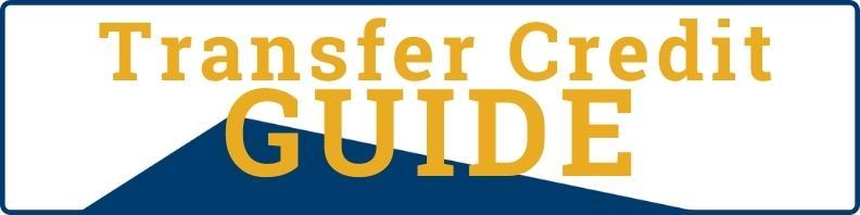 Transfer Credit Guide