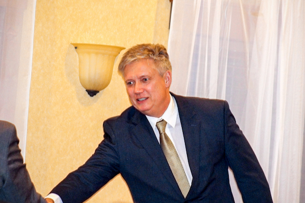 Dean Brad Bielski Accepts Award