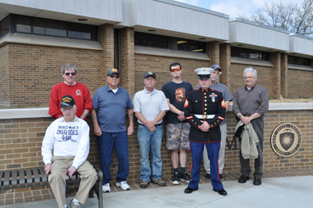 Some community members, faculty, students and staff who are U.S. military veterans.