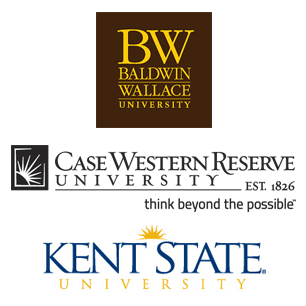 Baldwin Wallace, Case Western Reserve, Kent State Universities