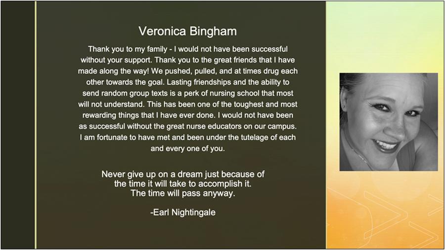 Veronica Bingham