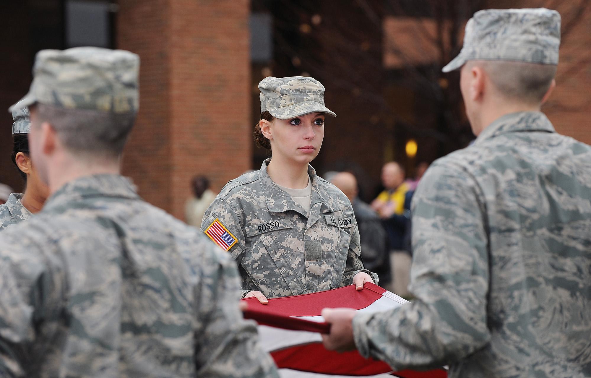 Photo of Veteran's Day at Kent State