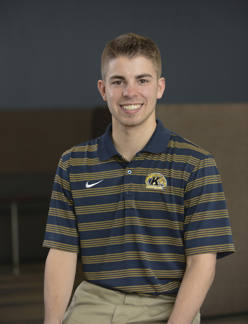 Kent State senior Vincent Shannon is completing his third internship with the PGA Tour's World Golf Championship in Akron, Ohio. His major is business management.