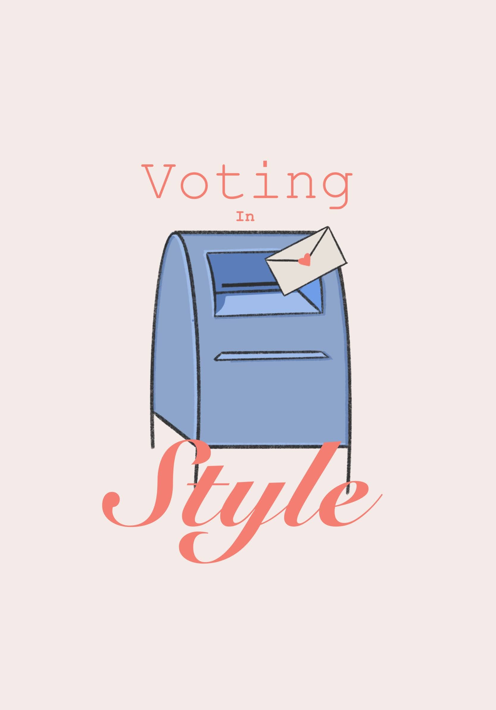 Voting in style logo
