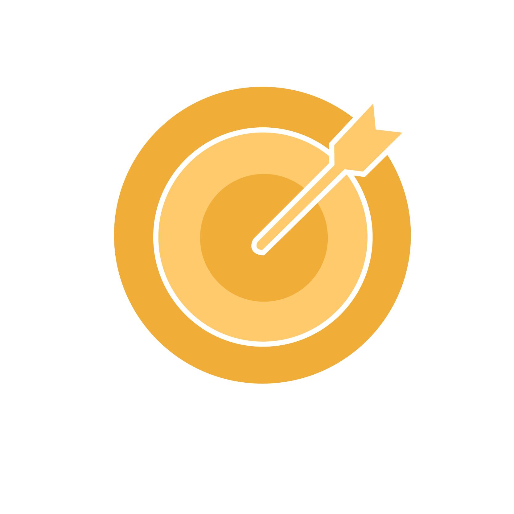 Kent State University Effective Learning Goal Setting Bullseye Icon