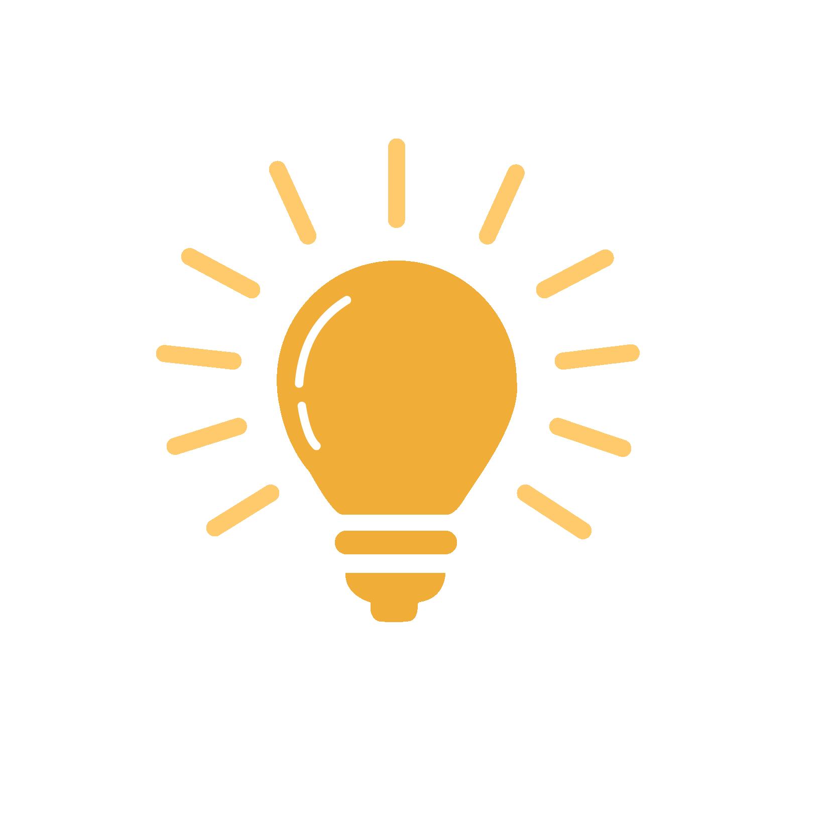 Kent State University Effective Learning Mindset Lightbulb Icon