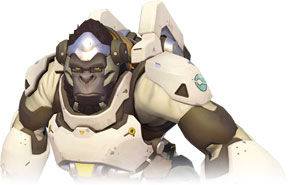 Winston is a player character appearing in the 2016 video game Overwatch.
