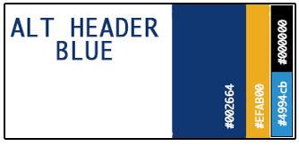 Alt Header Blue Palette
