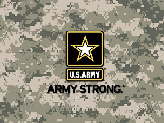 U.S. Army - Army Strong logo
