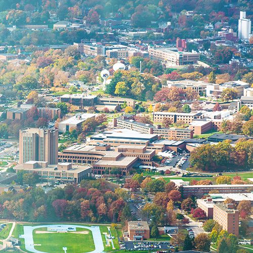 View of Kent Campus