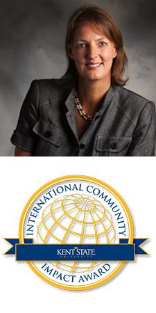 Bernadine van Kessel, International Community Impact Award