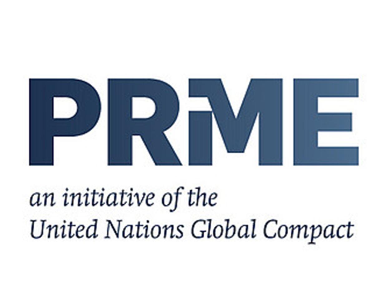 PRME signatory logo.