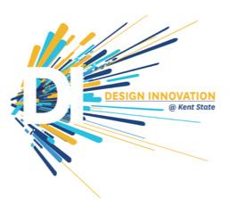 Design Innovation at Kent State Logo