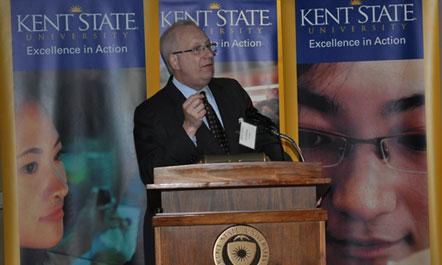 Kent State President Dr. Lester Lefton