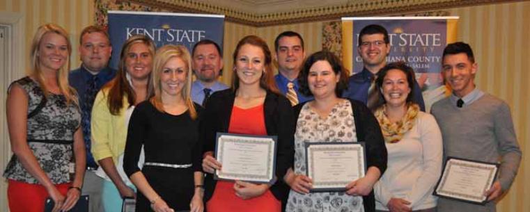 Kent State University at Salem Awards Banquet 2014