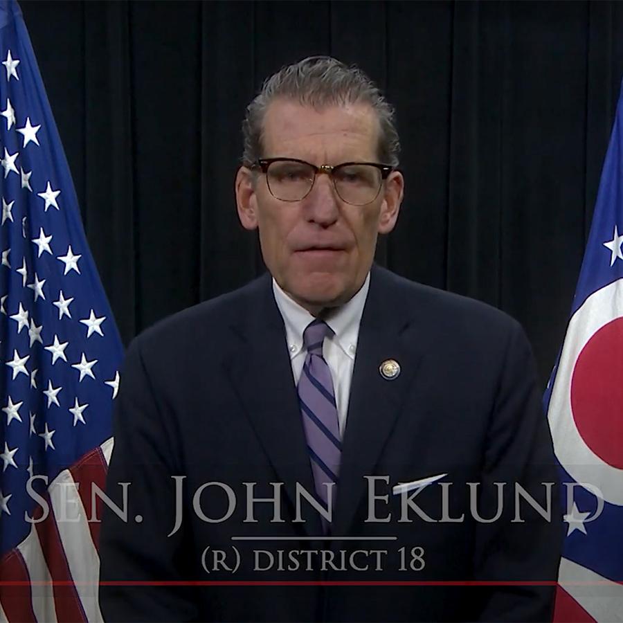 Video Message from Senator Eklund