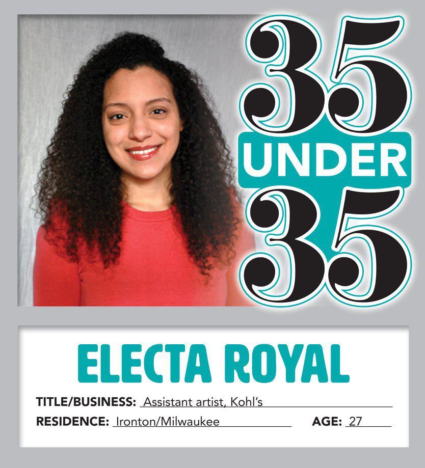 Electa Royal 35 under 35