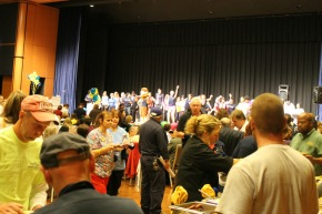 Faculty and Staff Enjoy Food, Fun and Entertainment at the Employee Appreciation Day.