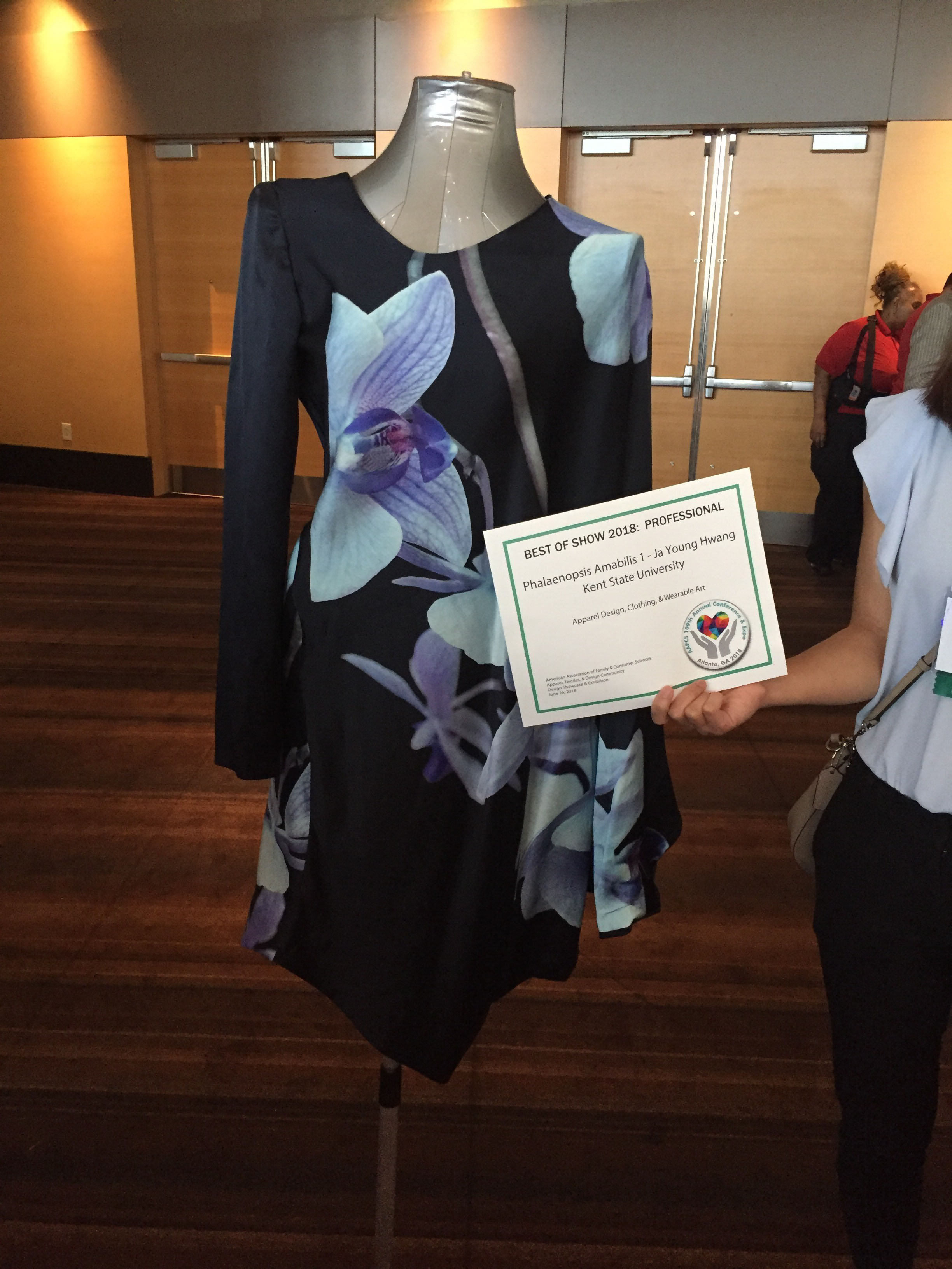 Two Kent State Fashion School Professors Win Best In Show At Aafcs Conference In Atlanta Kent State University