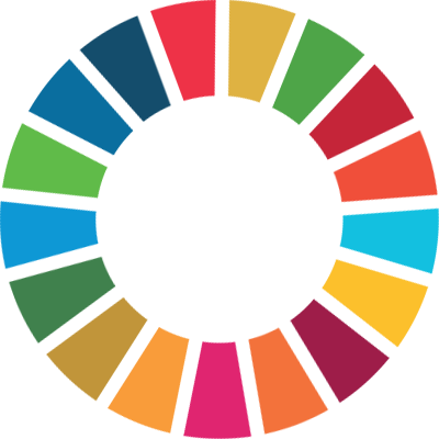 The Sustainable Development Goals logo/seal.
