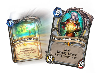 Hearthstone Quest Cards