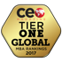 CEO Magazine Tier One Global MBA seal.