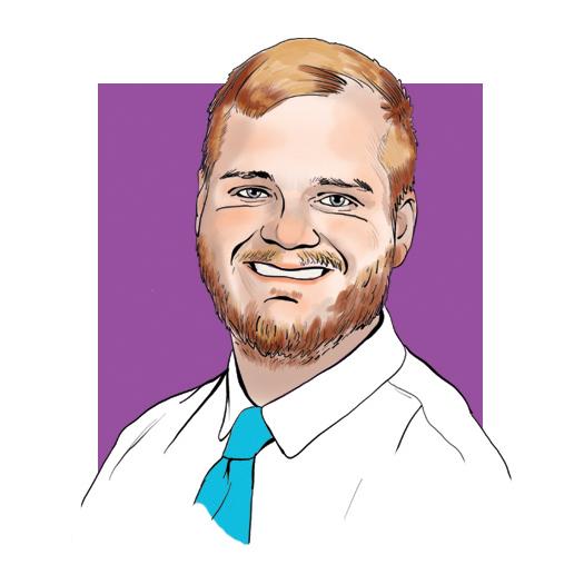 Jordan Provost, BME '17 illustrated by Jason Zehner '10