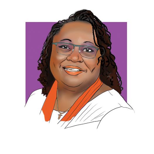Karen Jones Bankston, BSN '84, MSN '90 illustrated by Jason Zehner '10