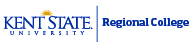 Kent State University Regional College logo