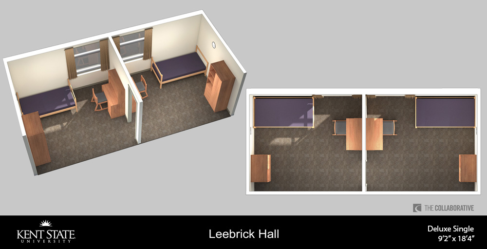 View the Leebrick Single room diagram in high resolution