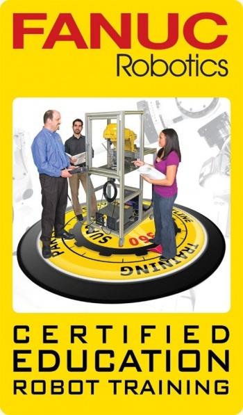 logo FANUC Certified Education Robot Training