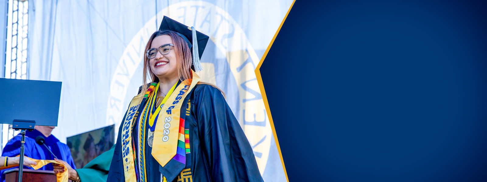 A Kent State Graduate at Commencement