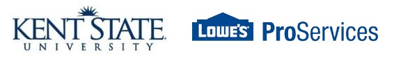 Kent State and Lowes Logo