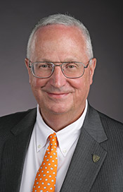 Vice President, Chief Information Officer and  Chief Technology Officer for The University of Toledo, William McCreary