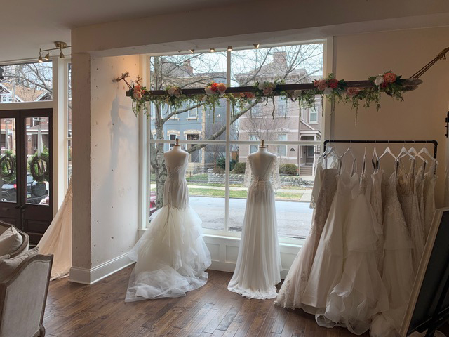 Mansion Hill Bridal inside view