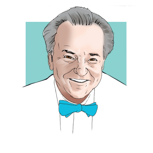 George Newkome, BS '61, PhD '66 illustrated by Jason Zehner '10