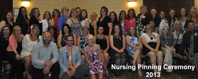 Nursing Pinning Ceremony 2013
