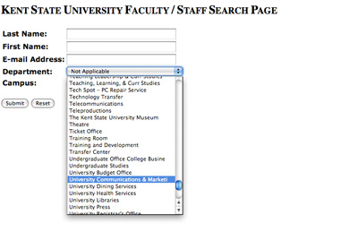 Official Online Directory Listing Screenshot