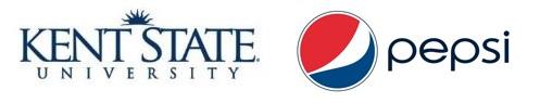 Kent State and pepsi Logo