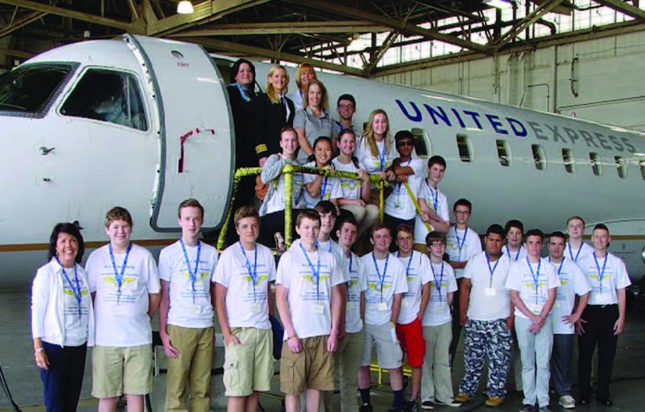 ACE Academy Students, United Express