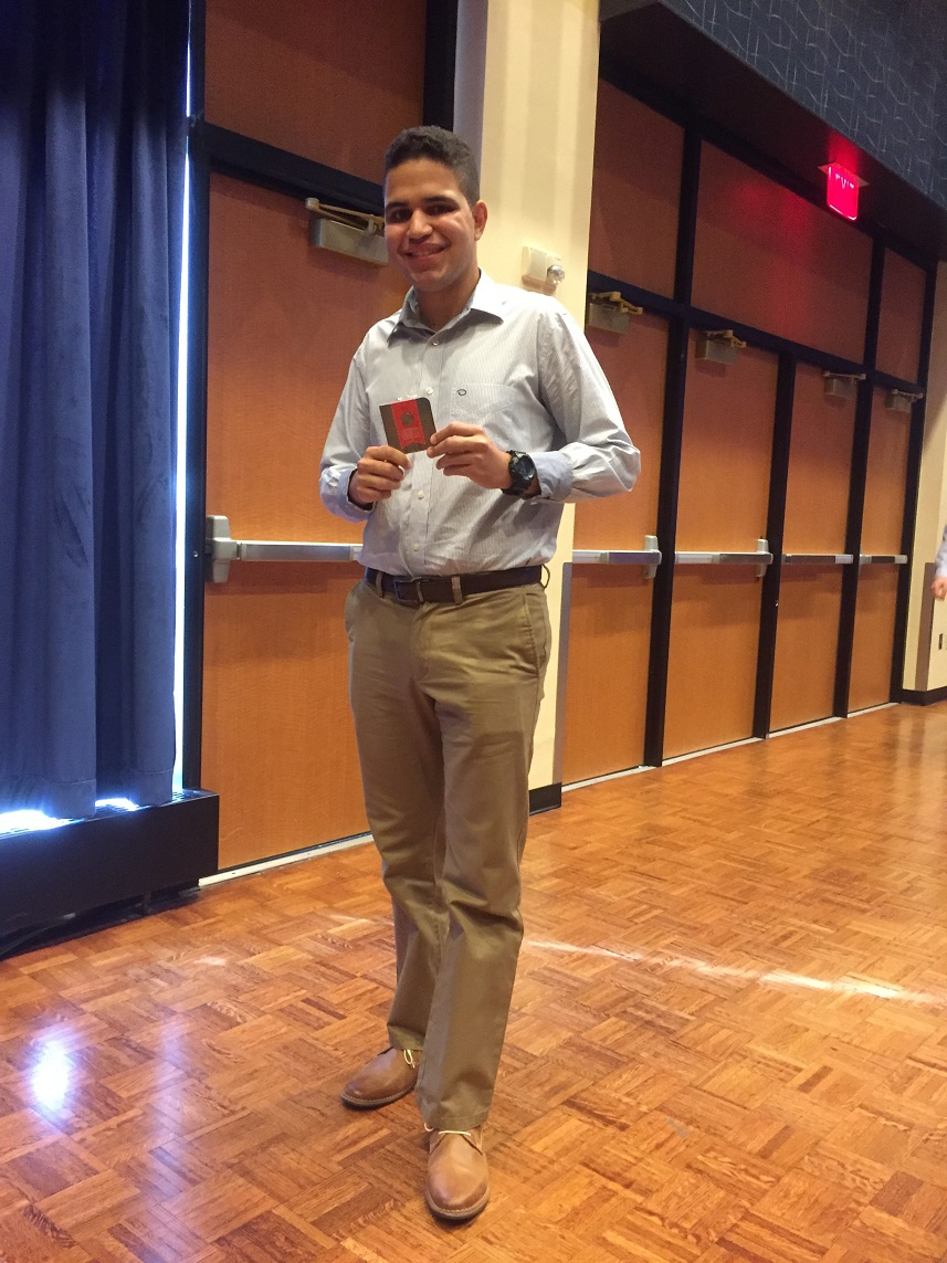 photo Adrian Rivera inducted into National Society of Collegiate Scholars