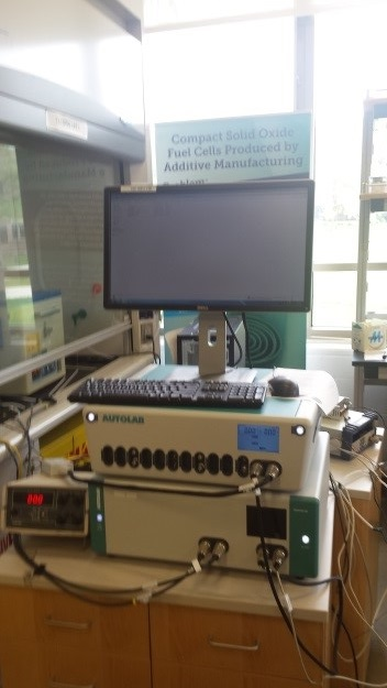photo Fuel Cell Research, Metrohm Autolab Potentiostat-Galvanostat PGSTAT302N and Autolab 20A Booster module
