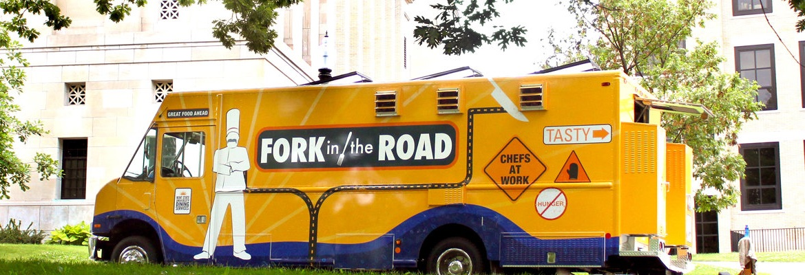 photo Kent State food Truck Fork in the Road