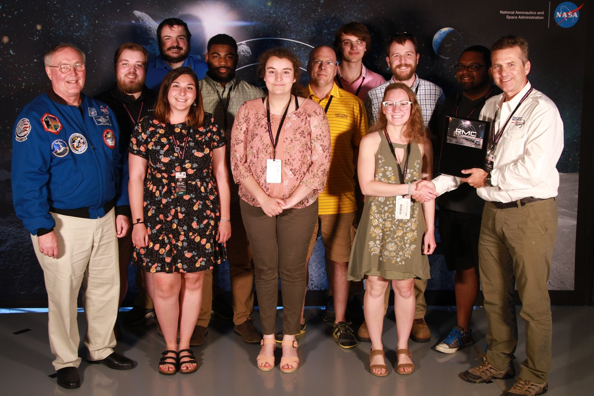 photo Robotics Team awarded at 2018 NASA Robotic Mining Competition
