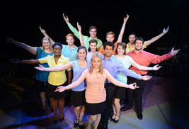 Members of the Porthouse Theatre 2013 Young Professional Company make up the cast of Working at Porthouse Theatre. The Young Professional Company includes undergraduate and graduate students studying musical theatre at Kent State.